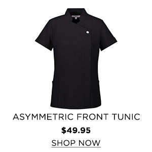 Aysmmetric front tunic