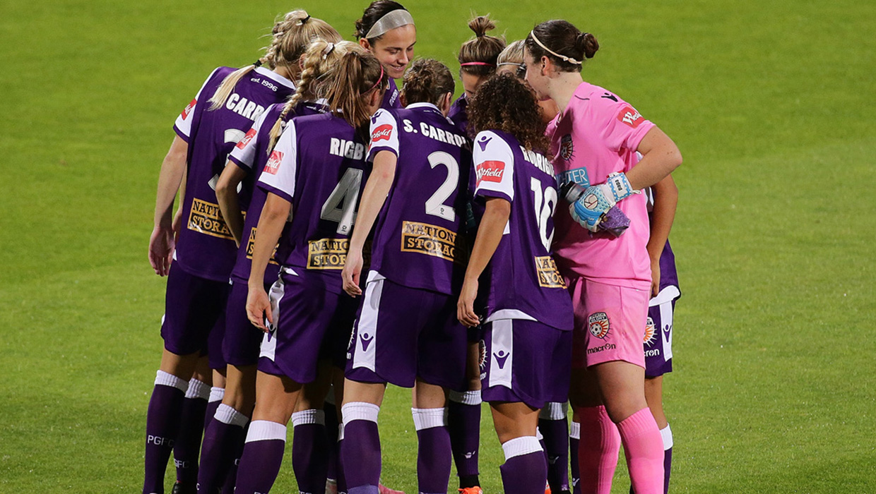 NNT Uniforms is proud to continue partnership with Perth Glory W-League