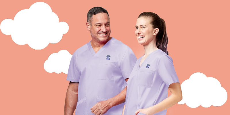 NNT Uniforms supporting healthcare workers with Smiling Mind
